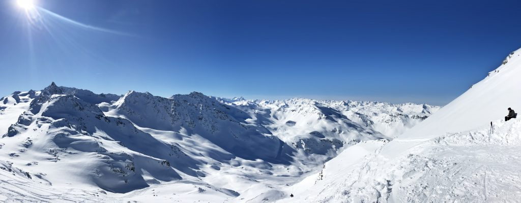 Mont Vallon South View Panorama