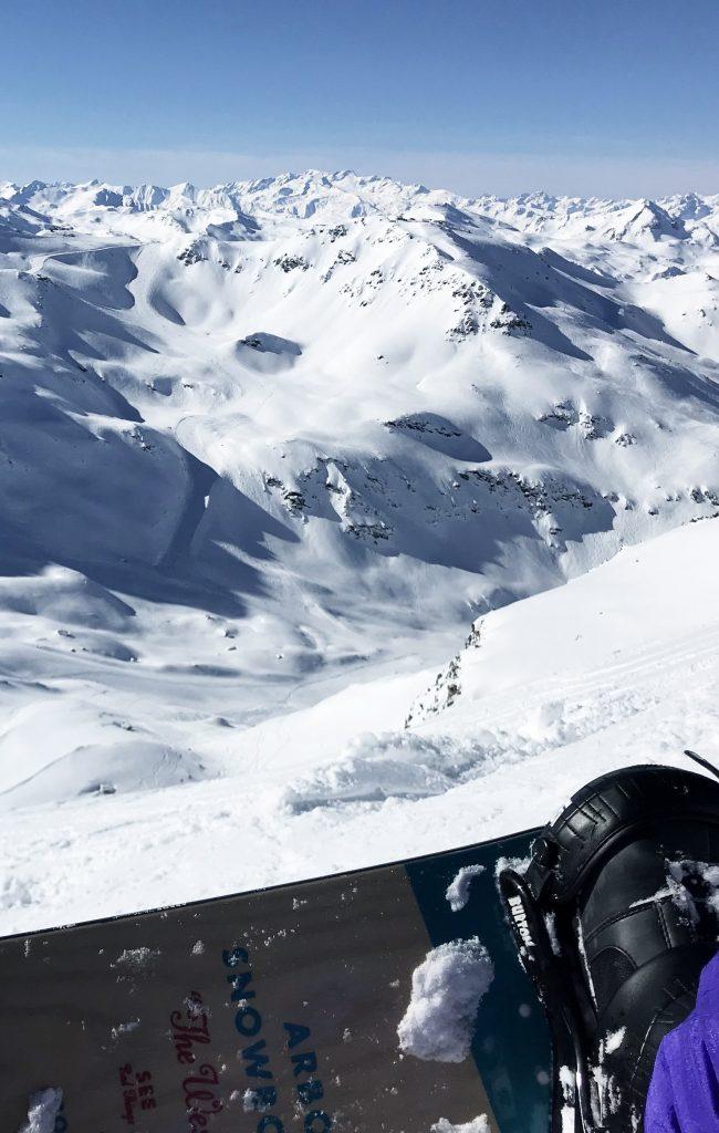 Mont Vallon Snowboard Portait